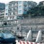 I palazzi lesionati di via Belvedere