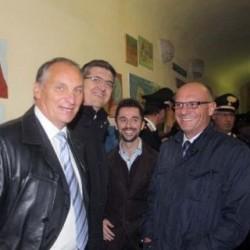 I sindaci Fazio, Pignocca, Rozzi alla Festa Virgo Fidelis di Albenga e Alassio