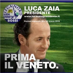 Luca Zaia presidente