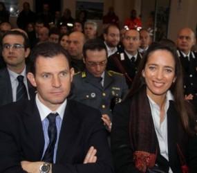 Aerporto Villanova conferenza e autorità