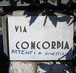 Via Concordia attenti