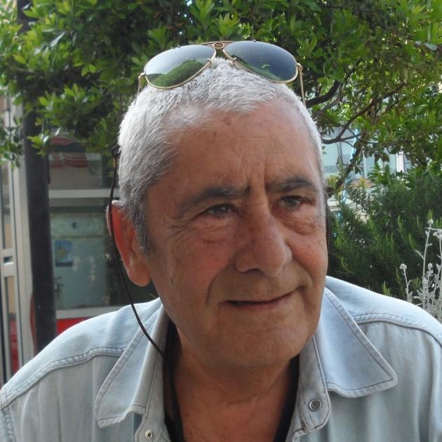 Luciano Locci la foto che aveva inviato a trucioli.it quando firmava i suoi articoli da Savona