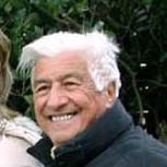 Mario Berrino in occasione della firma di Giuliano Gemma sul Muretto