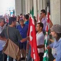 manifestazione 1 Agosto sotto Prefettura Spezia 2