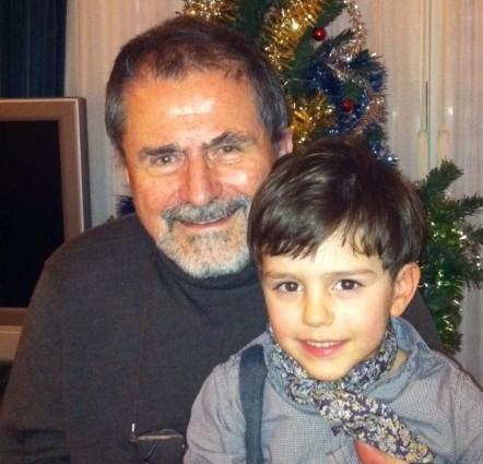 Silvio Laureri con il nipote Federico 2013