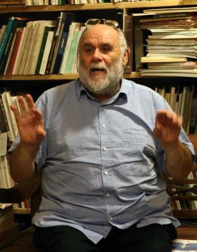 Gerry Delfino del Giardino Letterario di Albenga