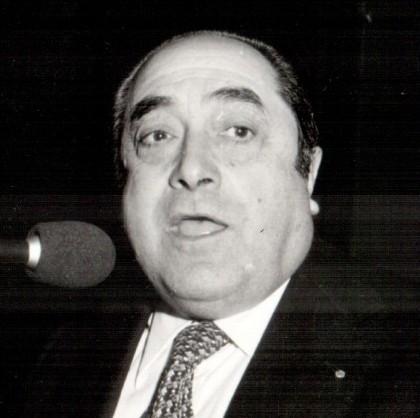 Pietra Ligure, la prima sera dell'avvocato Carlo Nan nella veste di sindaco, anni '80 (archivio trucioli.it)
