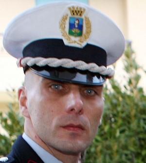 Il comandante dei vigili urbani, Ivan Suardi