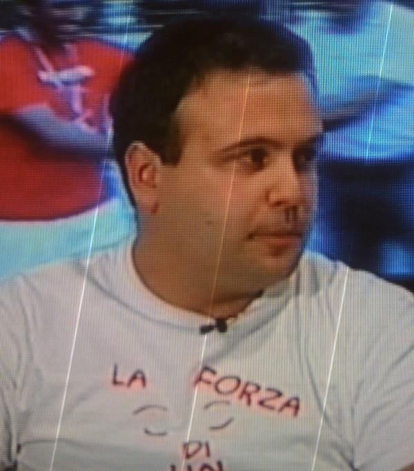 Andrea Ferrari  tra gli attivisti della Onlus Nicola Ferrari