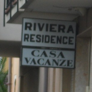 Ceriale insegna Riviera Residence