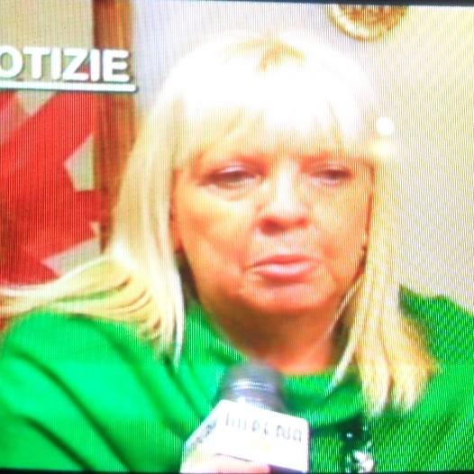 La mamma di Tommaso Bruno in Tv il giorno dell'arrivo del figlio ad Albenga
