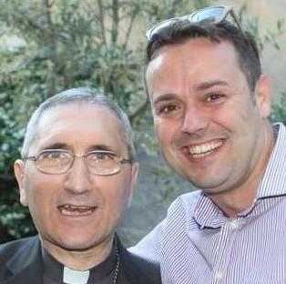 Il vescovo Borghetti e il dr.Ciangherotti