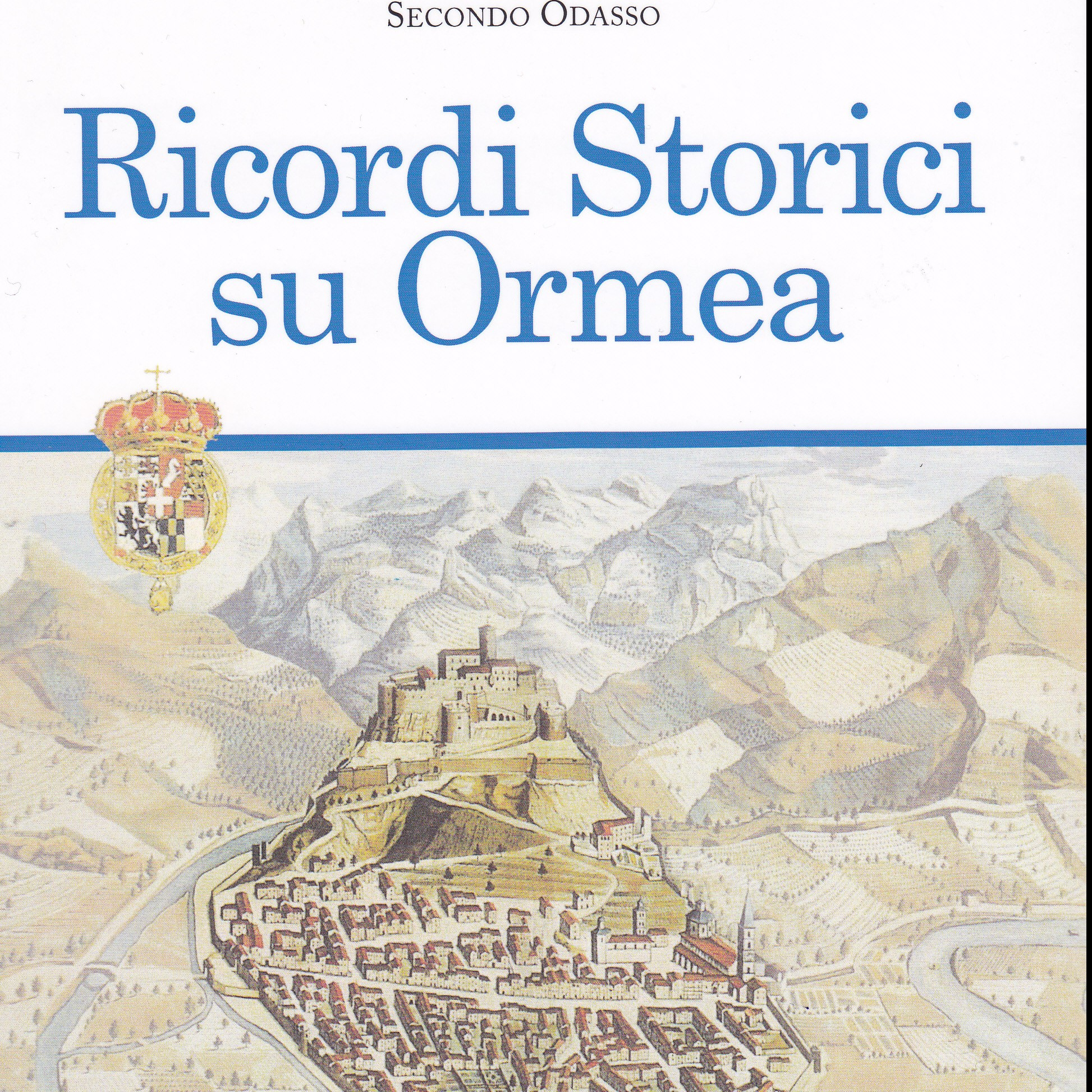 Ormea copertina libro don Odasso Ricordi Storici