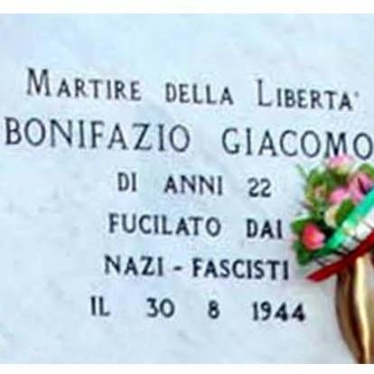 Giacomo Bonifazio lapide a Leca d'Albenga