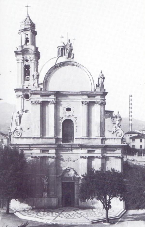 vada sabazia - chiesa  parrocchiale 1944