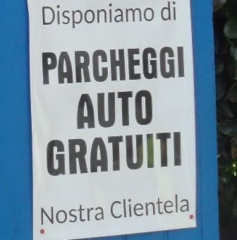 Alassio Bagni Pin parcheggio gratuito