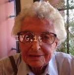 Adriana Colla, partigiana Vittoria (foto IVG.IT)