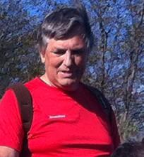 L'ingegner Bruno Martini durante una delle sue escursioni predilette a Pian delle Bosse del Monte Carmo