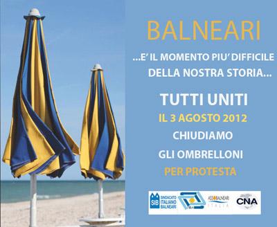 Spiagge e concessioni:un caso che farà discutere dopo lo 'sciopero degli ombrelloni'