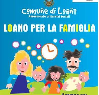 Loano, i tempi della famiglia e della città. Ecco il progetto