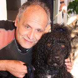 LA NOVITA' / Alassio, immagini dei cani pescatori a convegno. E dall'Australia torna Rocco Marino per copiare i segreti di Ugo