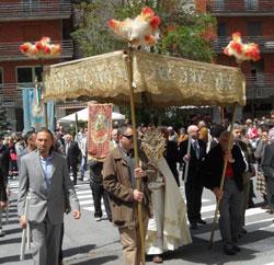 Ormea, quando il Corpus Domini era gran festa popolare