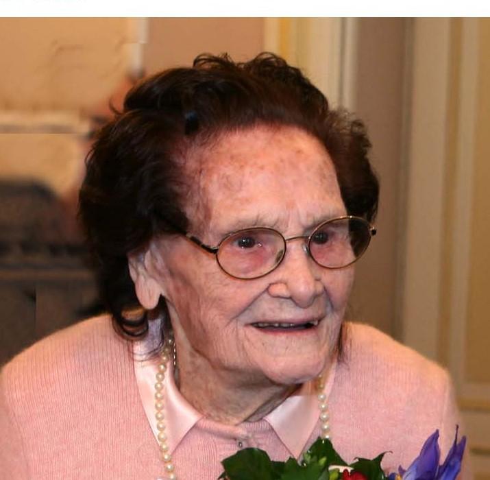 Alassio, la felicità di nonna Emma. Ambasciatrice dei Galbani