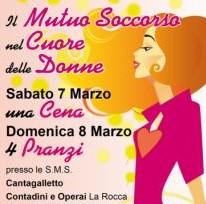 Savona e Ceriale 8 marzo Arci donna. Pranzi e cene pro 'sala trucco' ospedale San Paolo