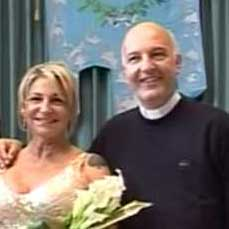 Imperia don Antonello testimone di nozze, ma di divorziate. Ecco Beatrice giornalista