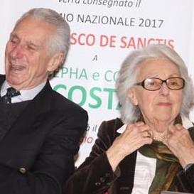 La gratitudine di Albenga a due 'figli diletti'Ricordi, elogi e commozione per l'avvocato Cosimo Costa e la moglie Josepha Restagno