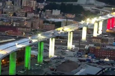 L'avvocato di Finale: ora tutti ingegneri Nuovo ponte di Genova a 70 km anziché 100Per 16 secondi bisogna fare tanto casino?