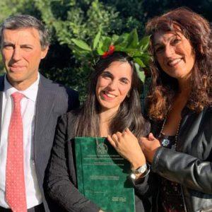 Finale Ligure, Marianna laurea in 'Produzione e Protezione di Piante e Sistemi del Verde'. Allenatrice di softbal ad Albissola, Cairo Montenotte, Genova
