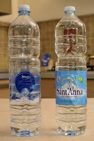 Lettera 1/ Curiosità acqua Sant'Anna