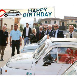 Garlenda Club Fiat 500 e 'Personaggio dell'Anno': Alberto Scuro. E Andora: riapre il Centro sociale Terza Età