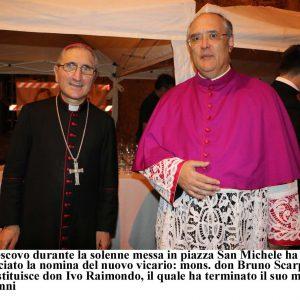 Foto della settimana/ Albenga il neo vicario diocesano e nuovo cancelliere. Alassio mostra di Marcella Fiore. Savona festa della polizia